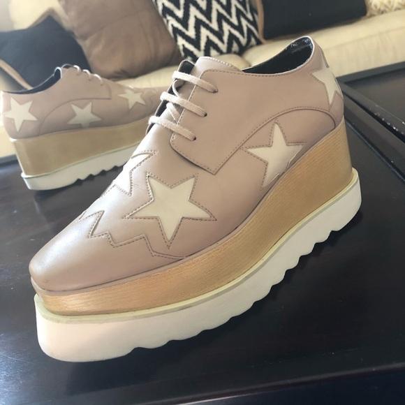 37a98e1fea8d Stella McCartney Elyse Star Platform Oxford Shoes.  M 5b74668228309550f124c9f8